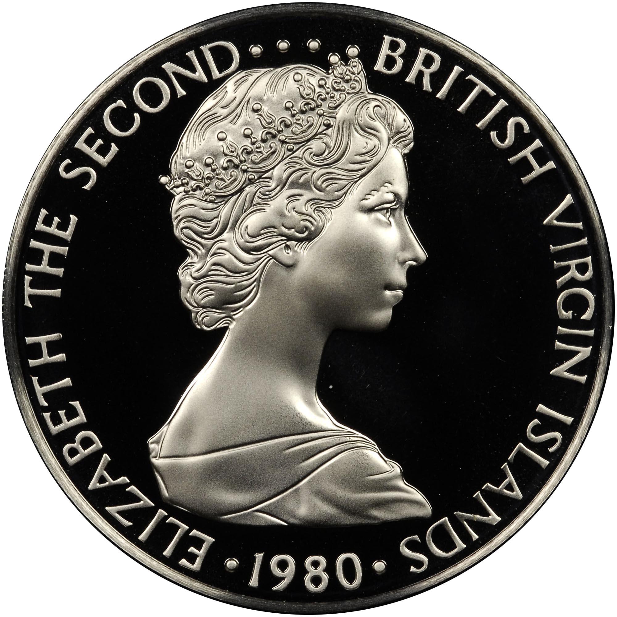 British Virgin Islands 50 Cents obverse