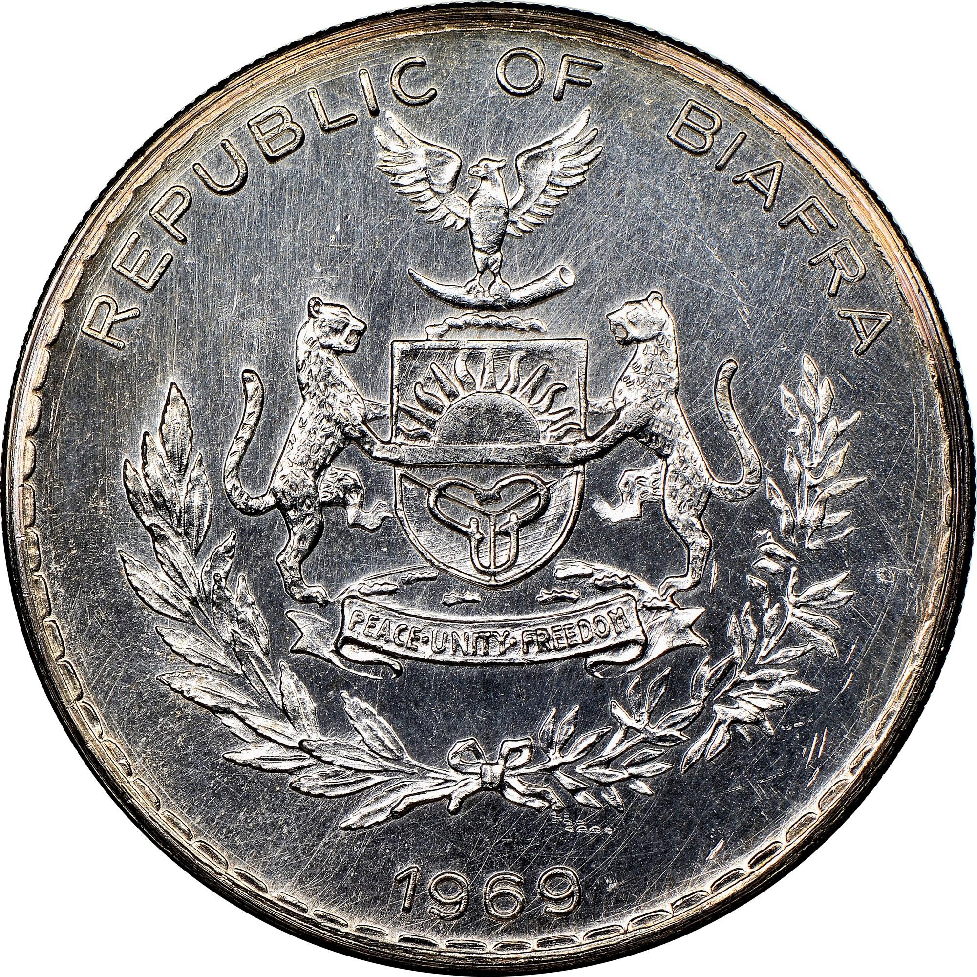 Biafra Pound obverse
