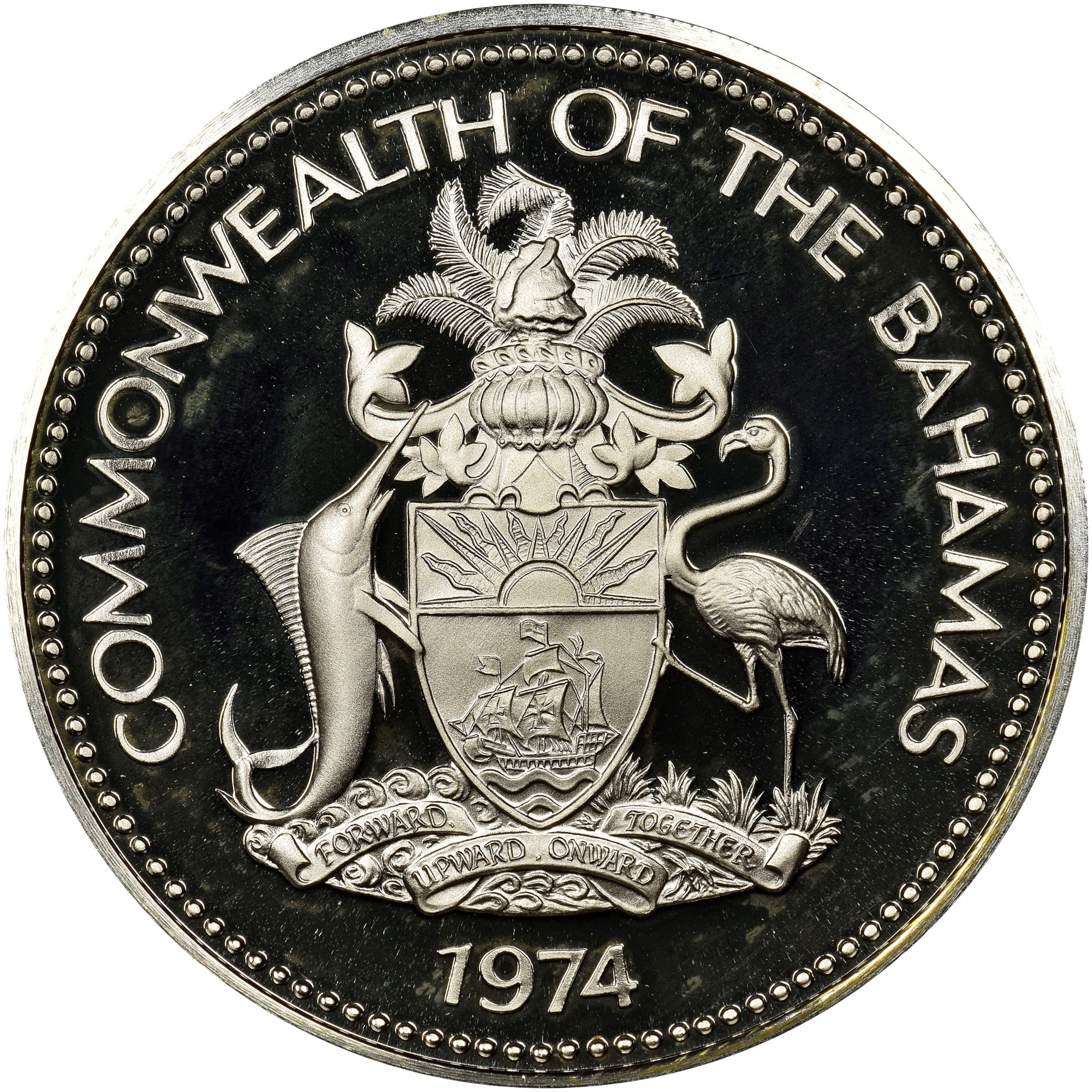 Bahamas Dollar obverse