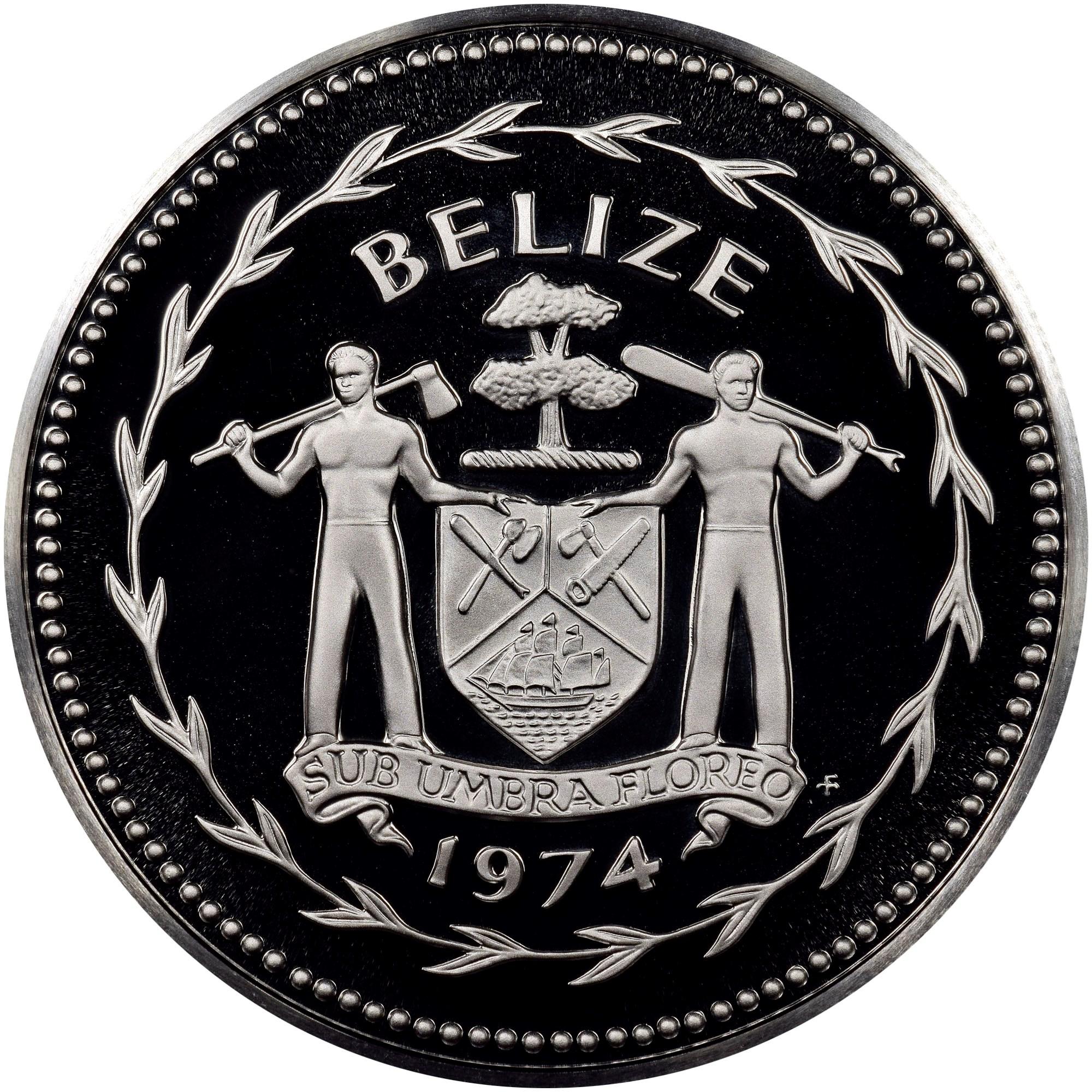Belize 10 Dollars obverse
