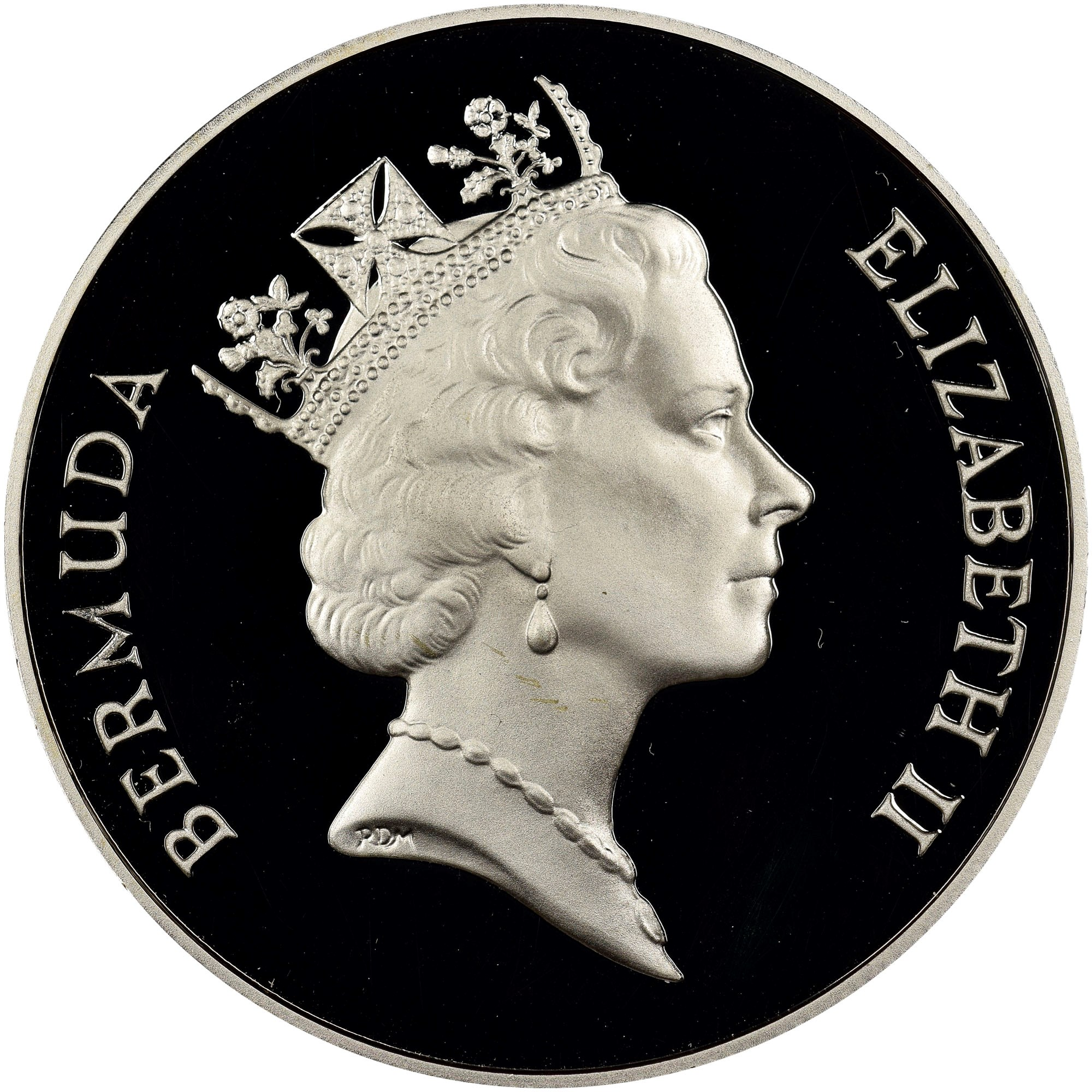Bermuda Dollar obverse