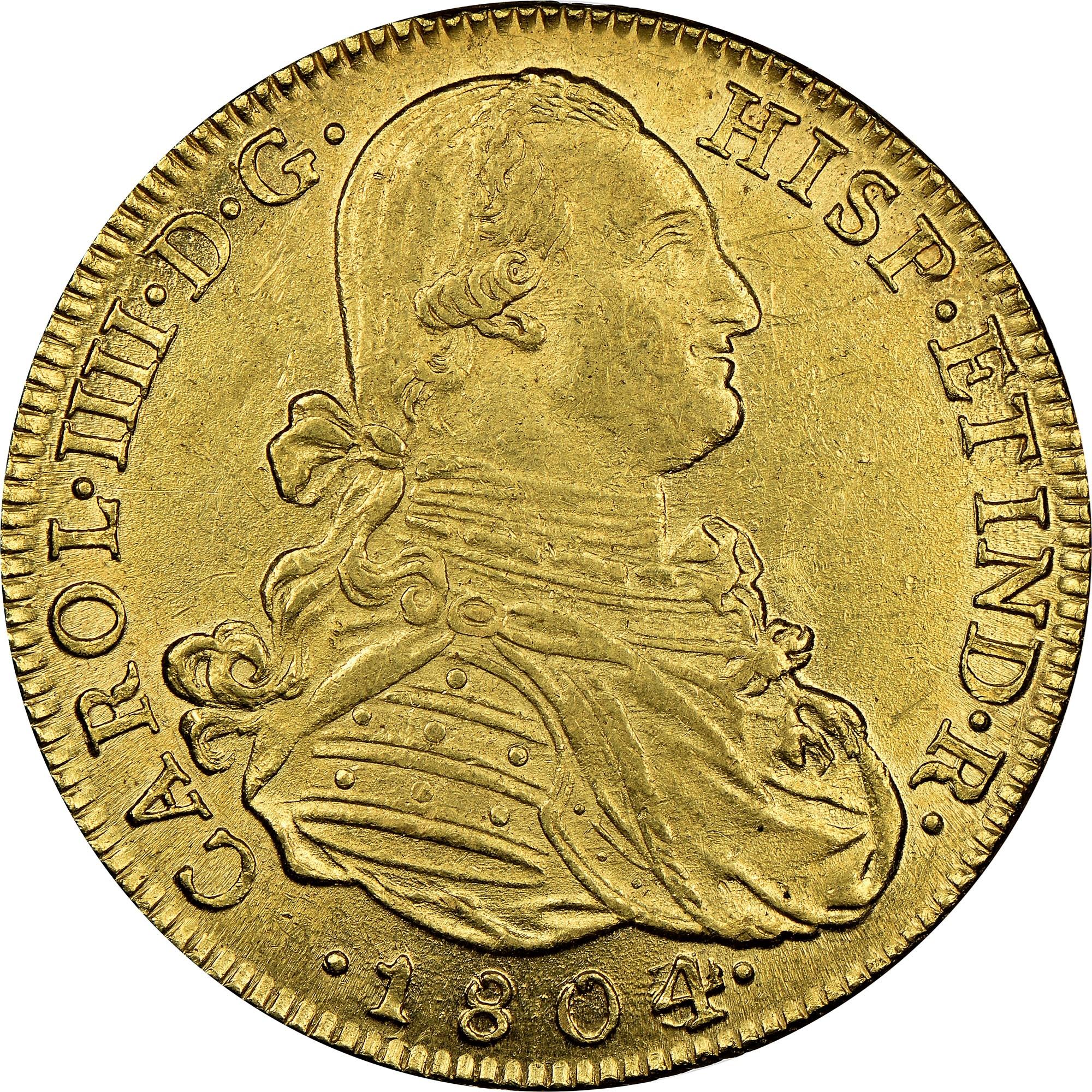 Colombia 8 Escudos obverse