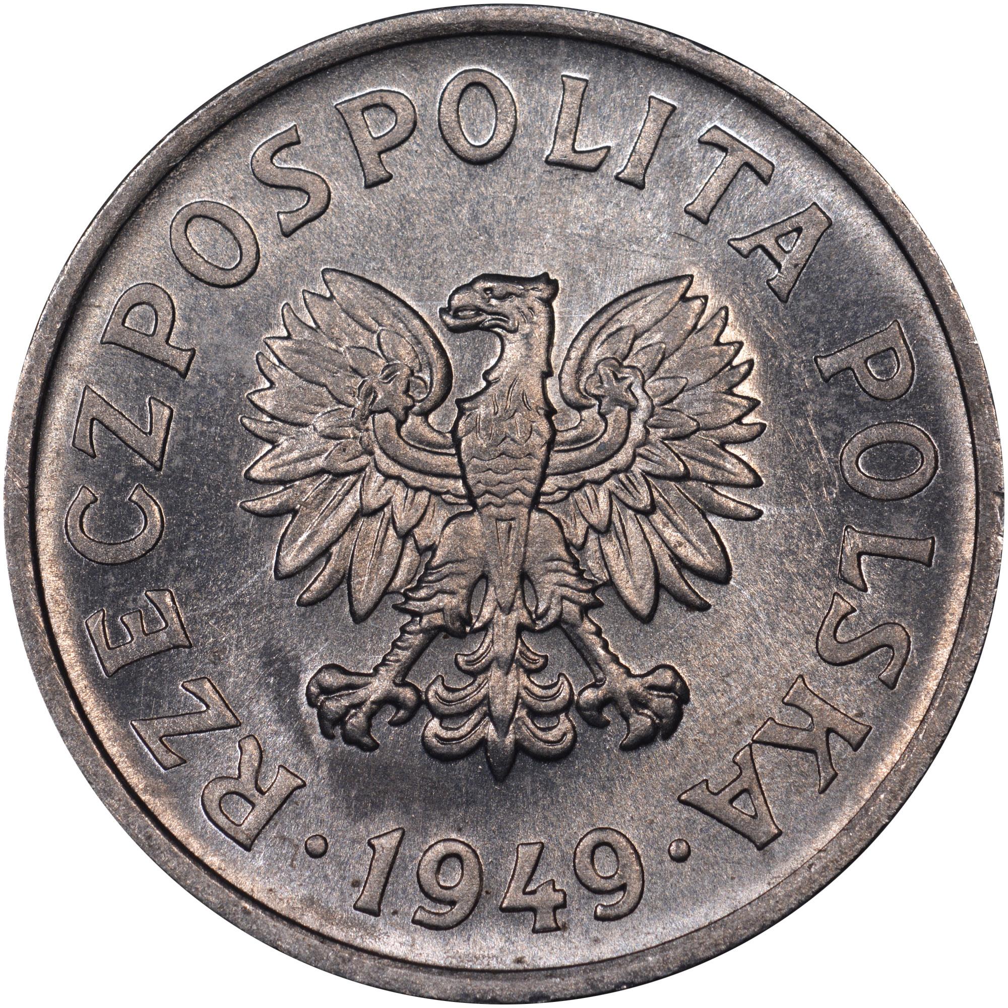 Poland 20 Groszy obverse