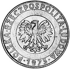 Poland 20 Złotych obverse