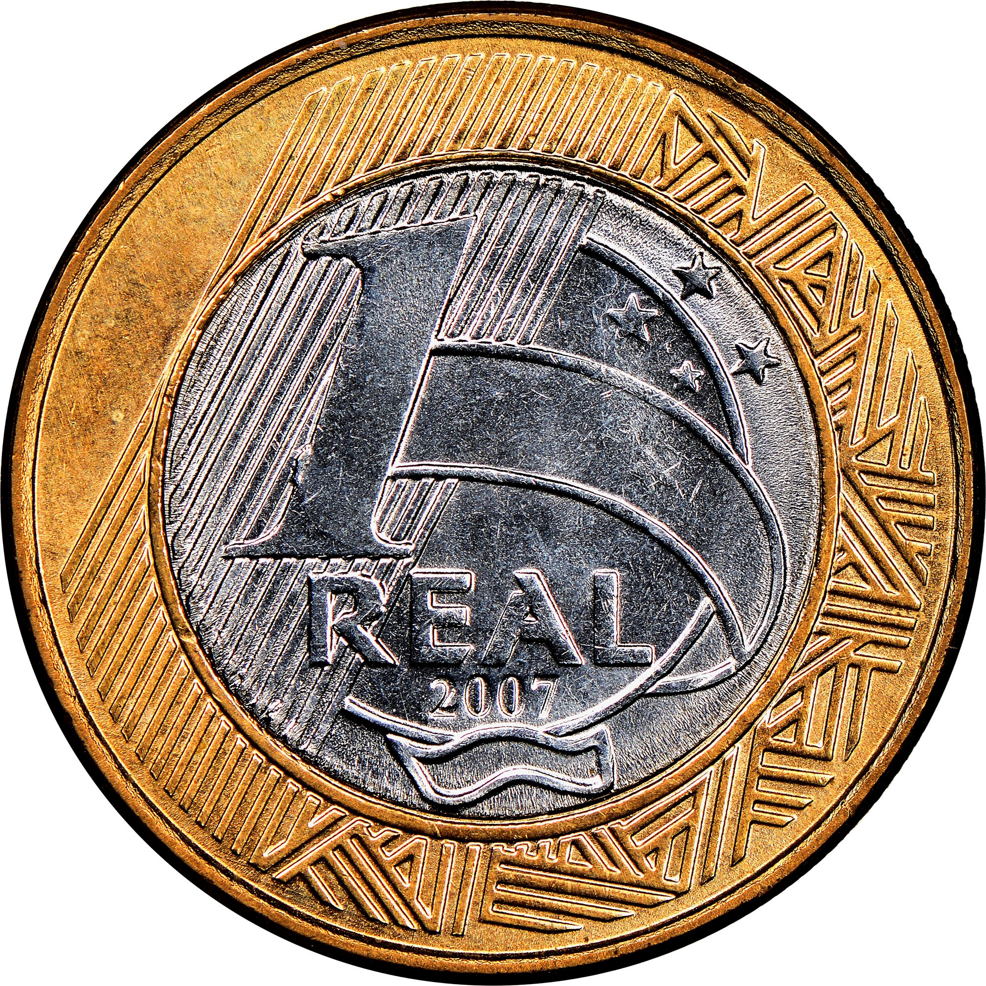 Brazil Real reverse