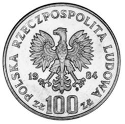 Poland 100 ZÅ'otych obverse