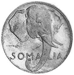 Somalia Centesimo obverse