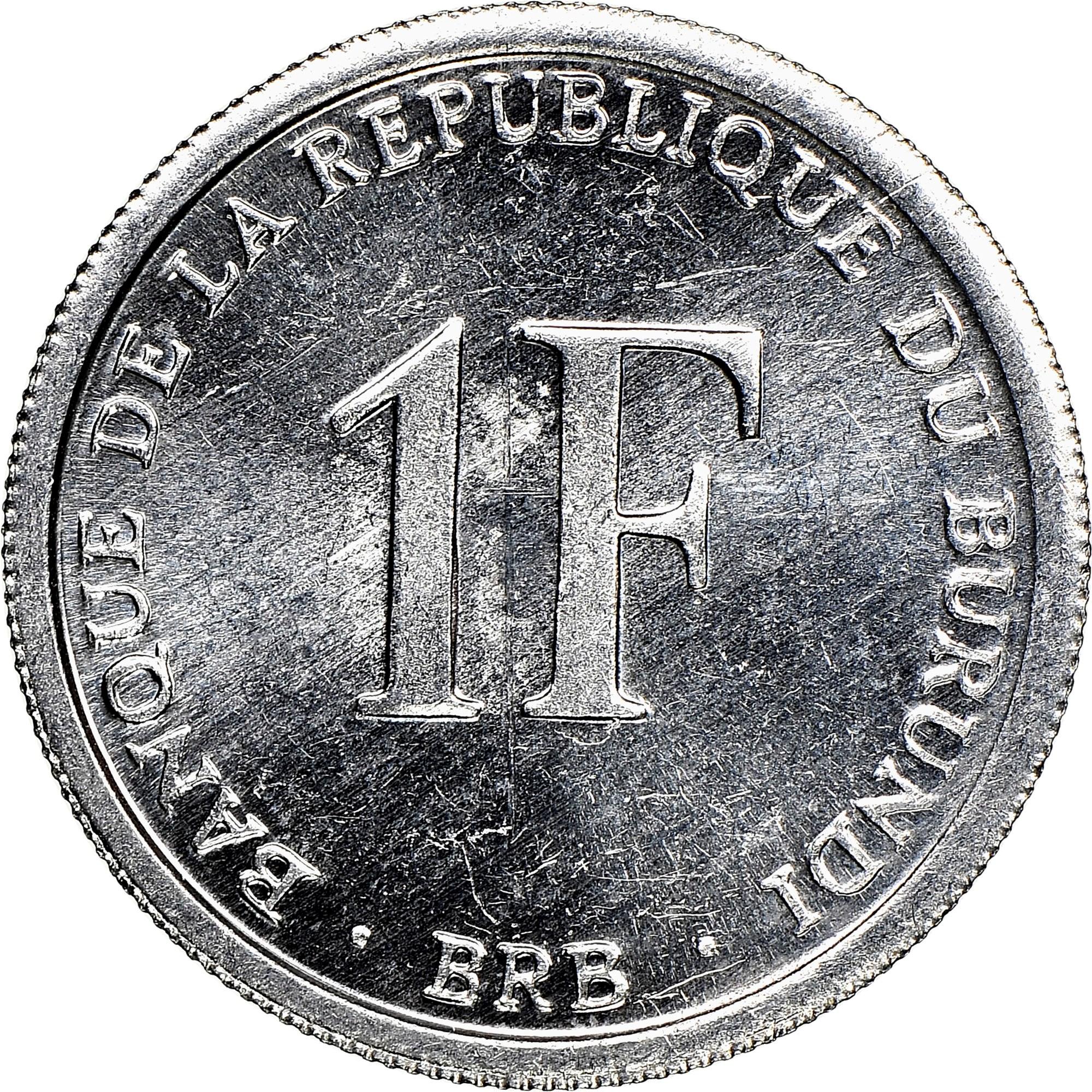 Burundi Franc obverse