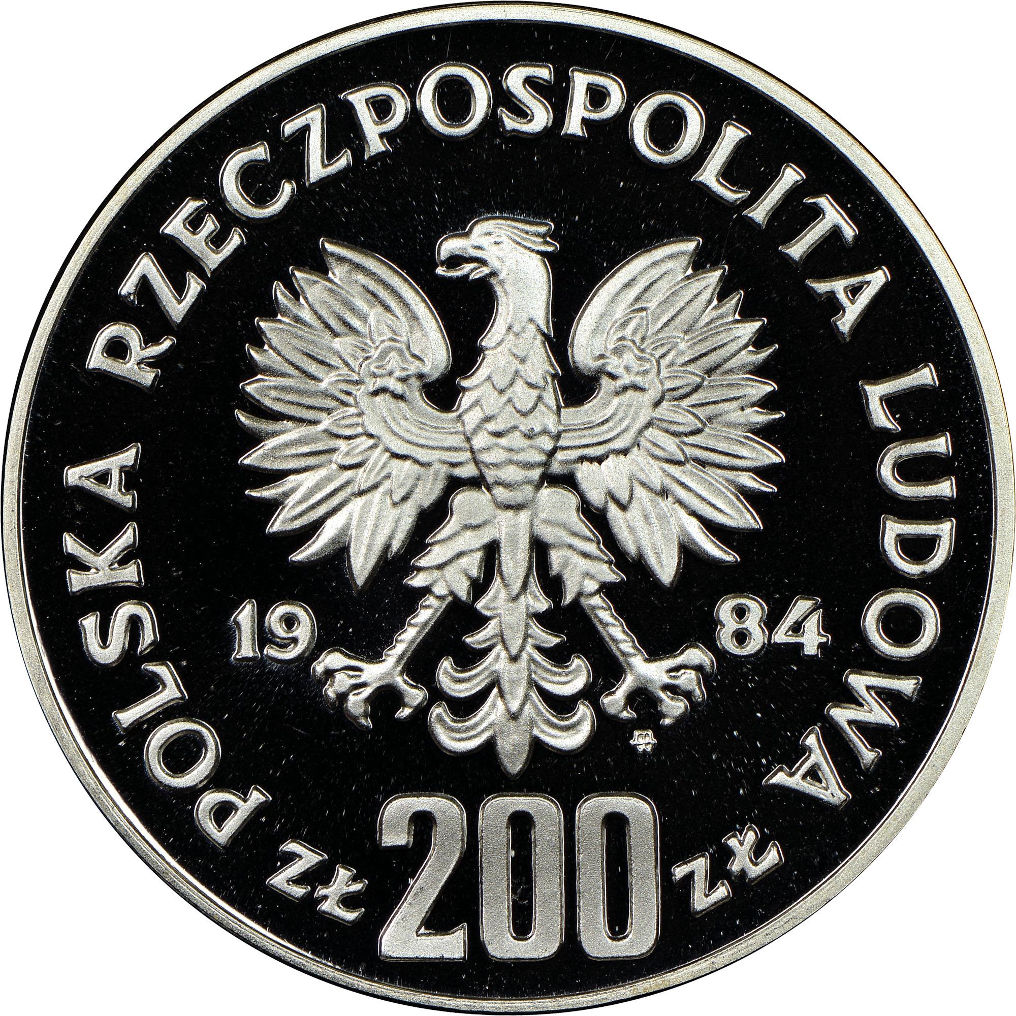Poland 200 Złotych obverse