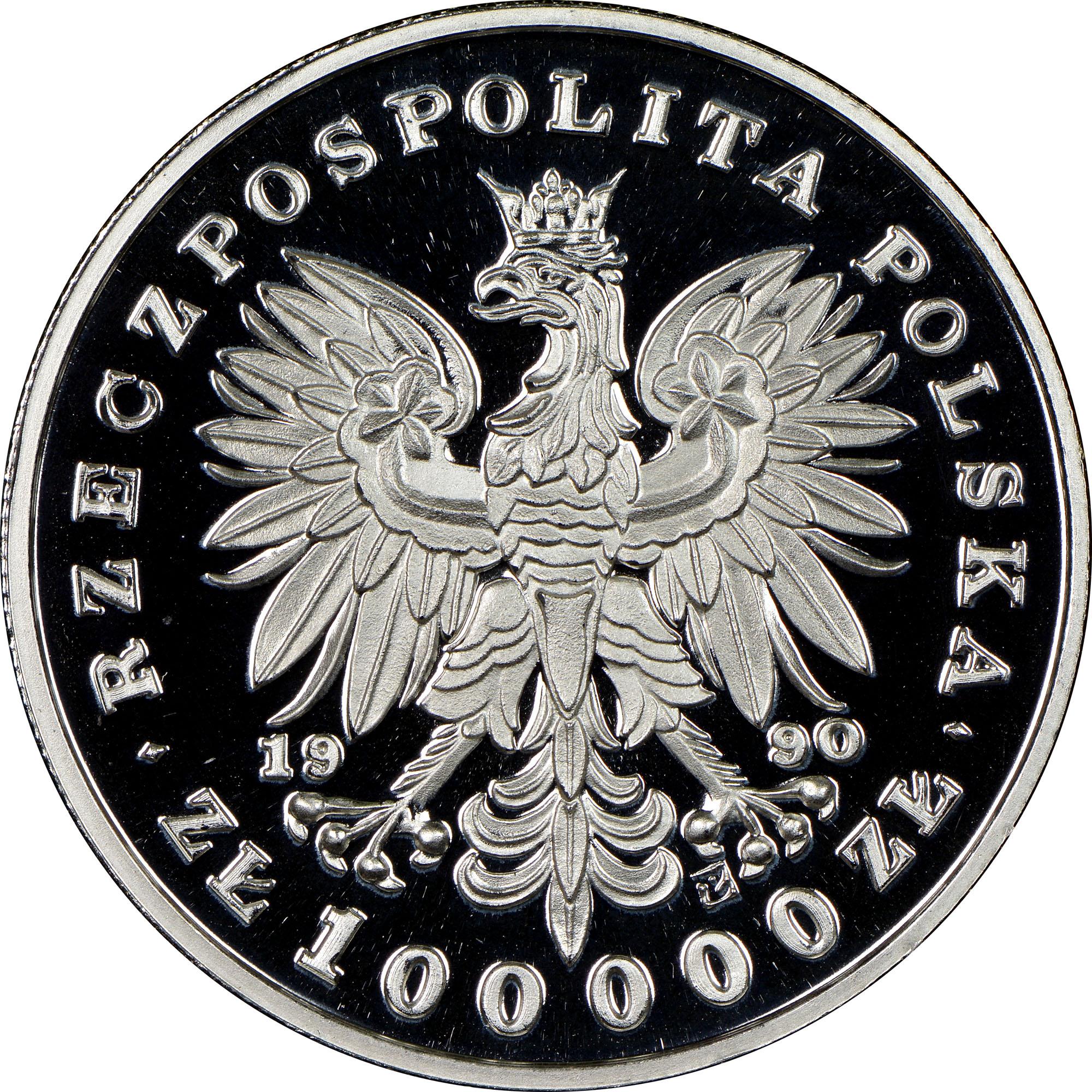 Poland 100000 Złotych obverse