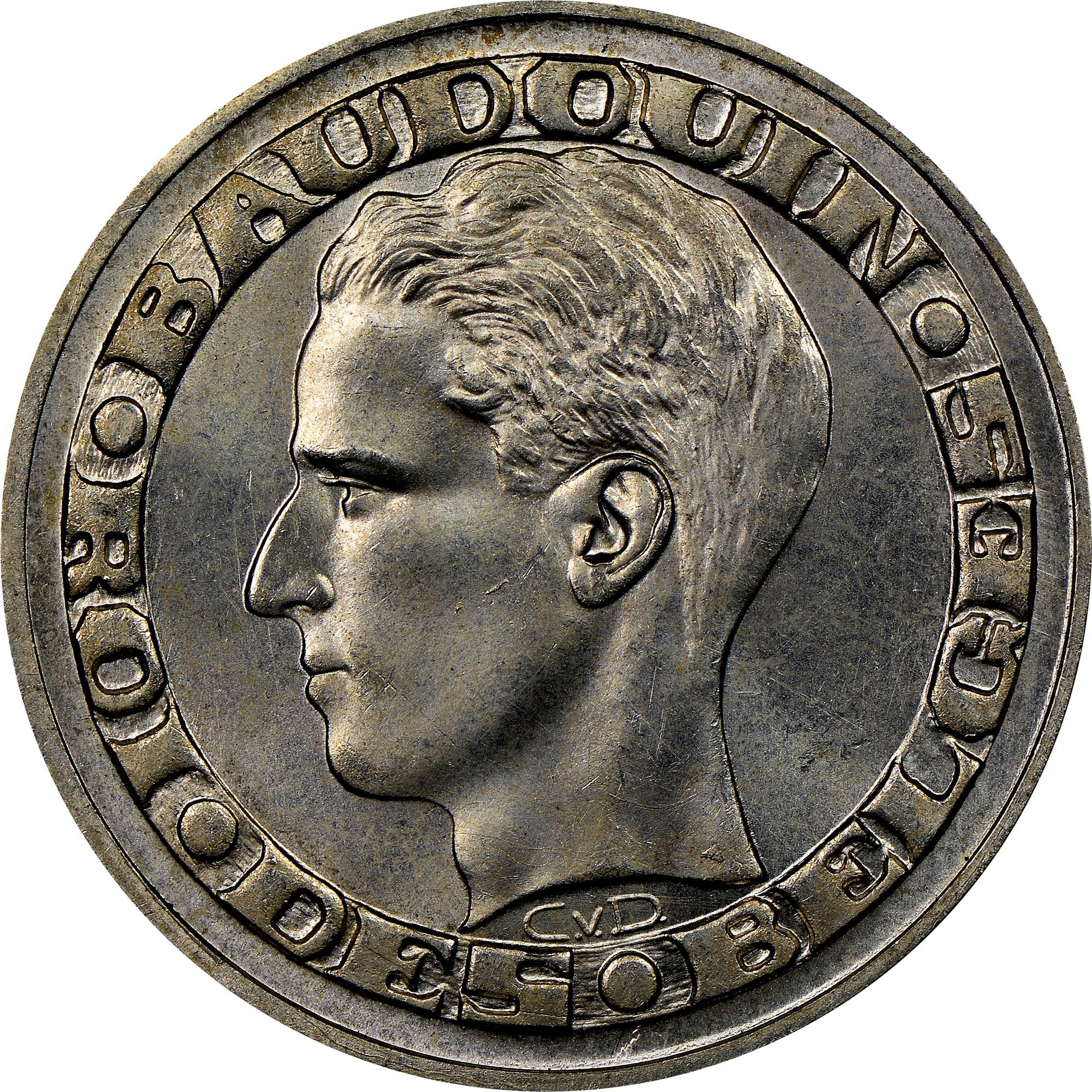 Belgium 50 Francs obverse