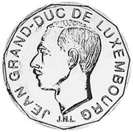 Luxembourg 50 Francs obverse