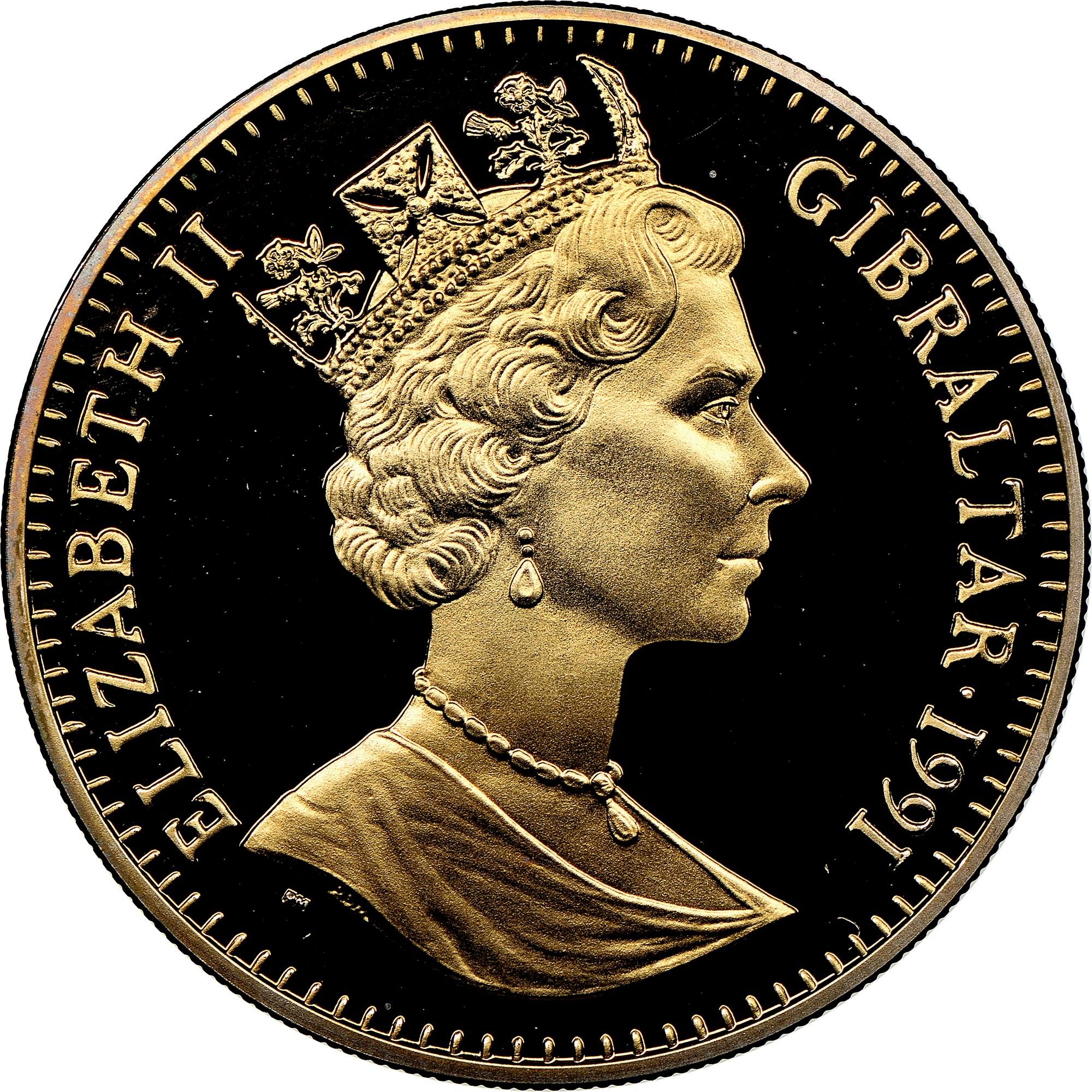 Gibraltar Crown obverse