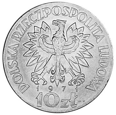 Poland 10 ZÅ'otych obverse