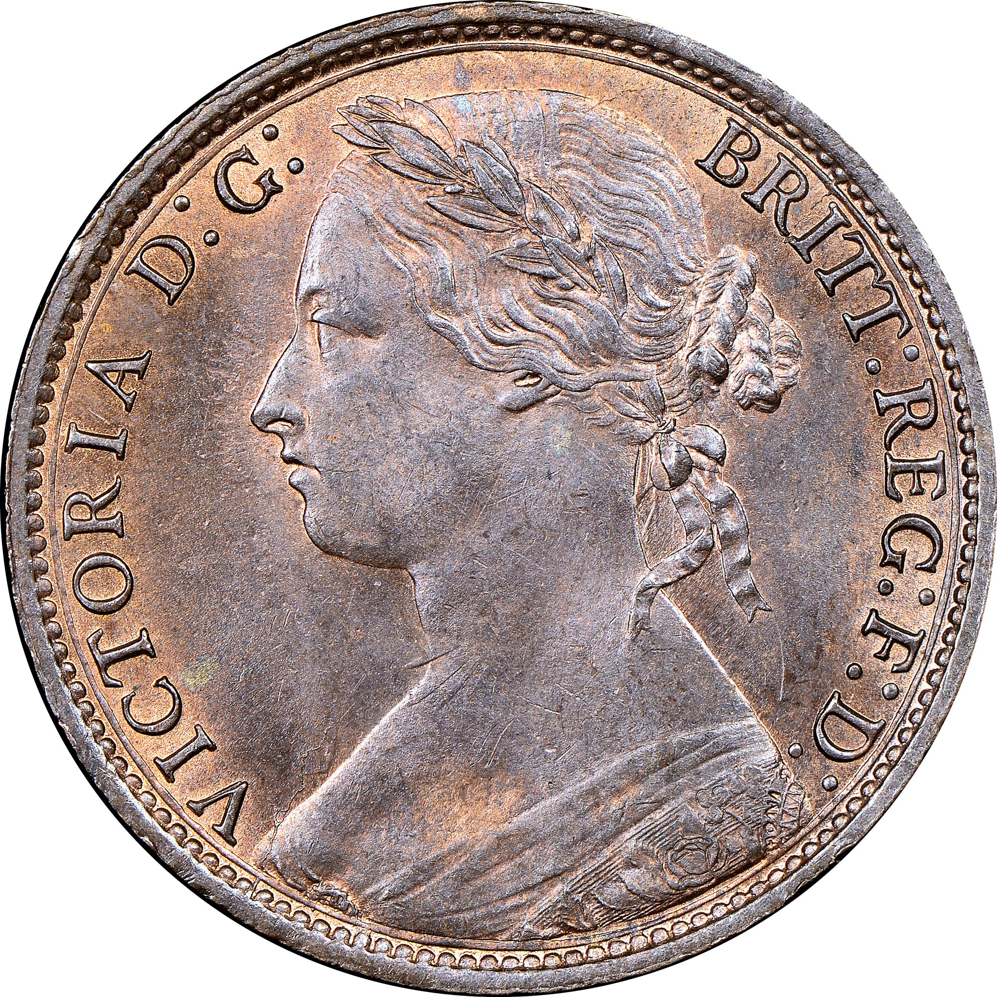 Great Britain Penny obverse