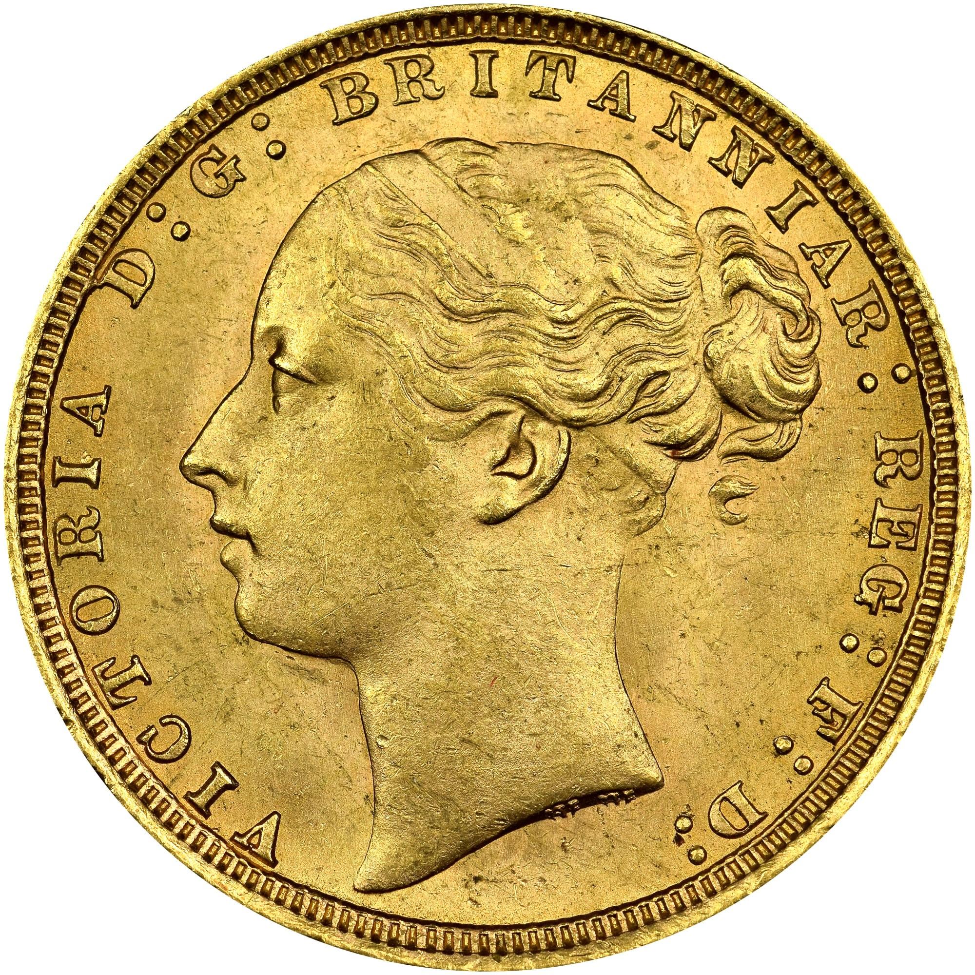 Great Britain Sovereign obverse