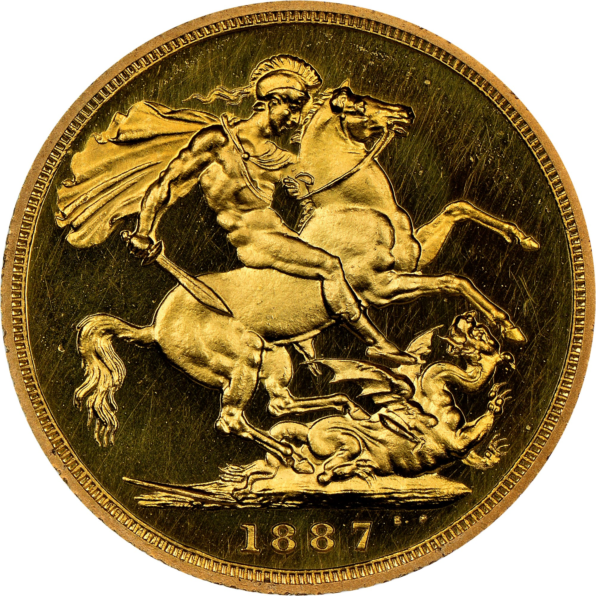 Great Britain Sovereign reverse