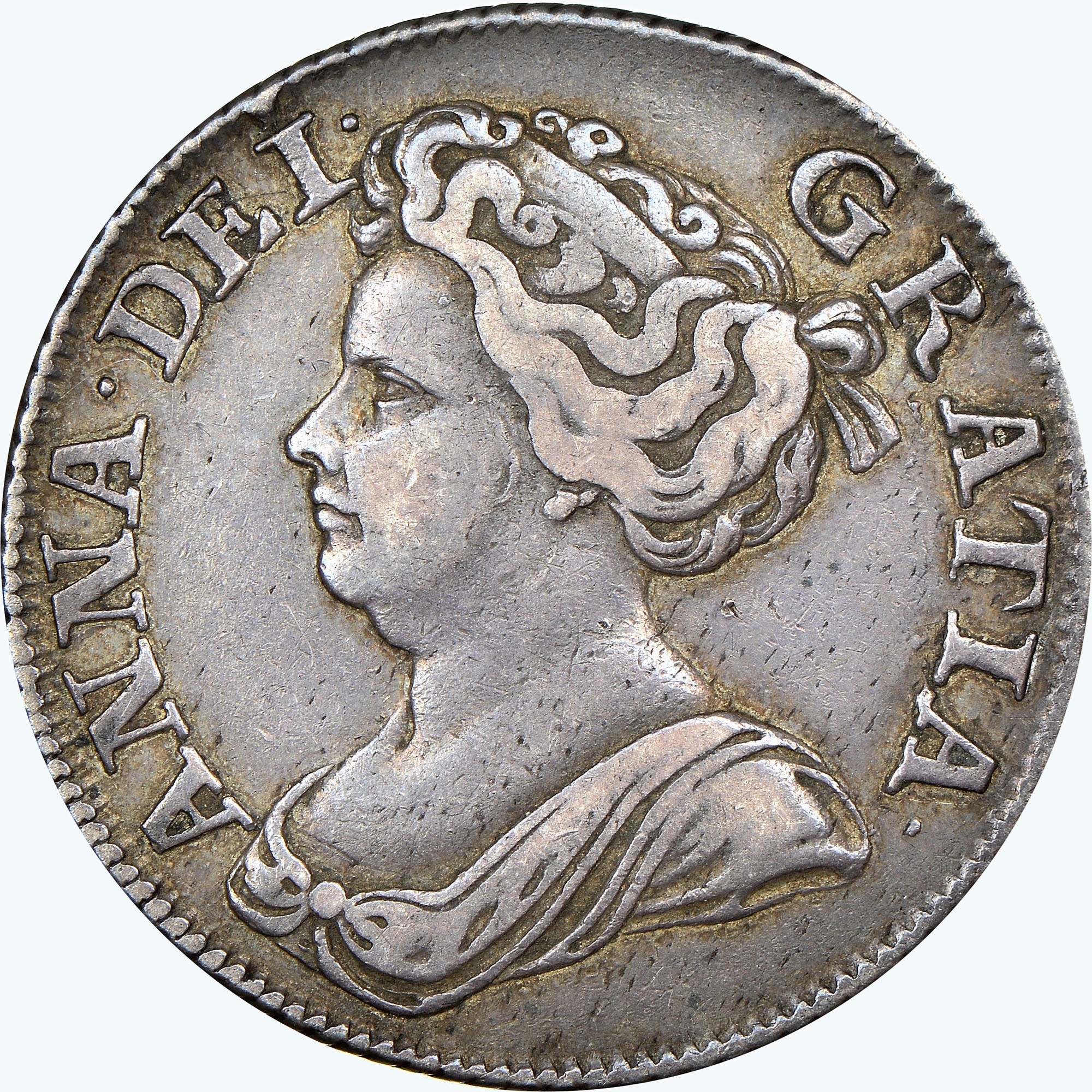 Great Britain Shilling obverse
