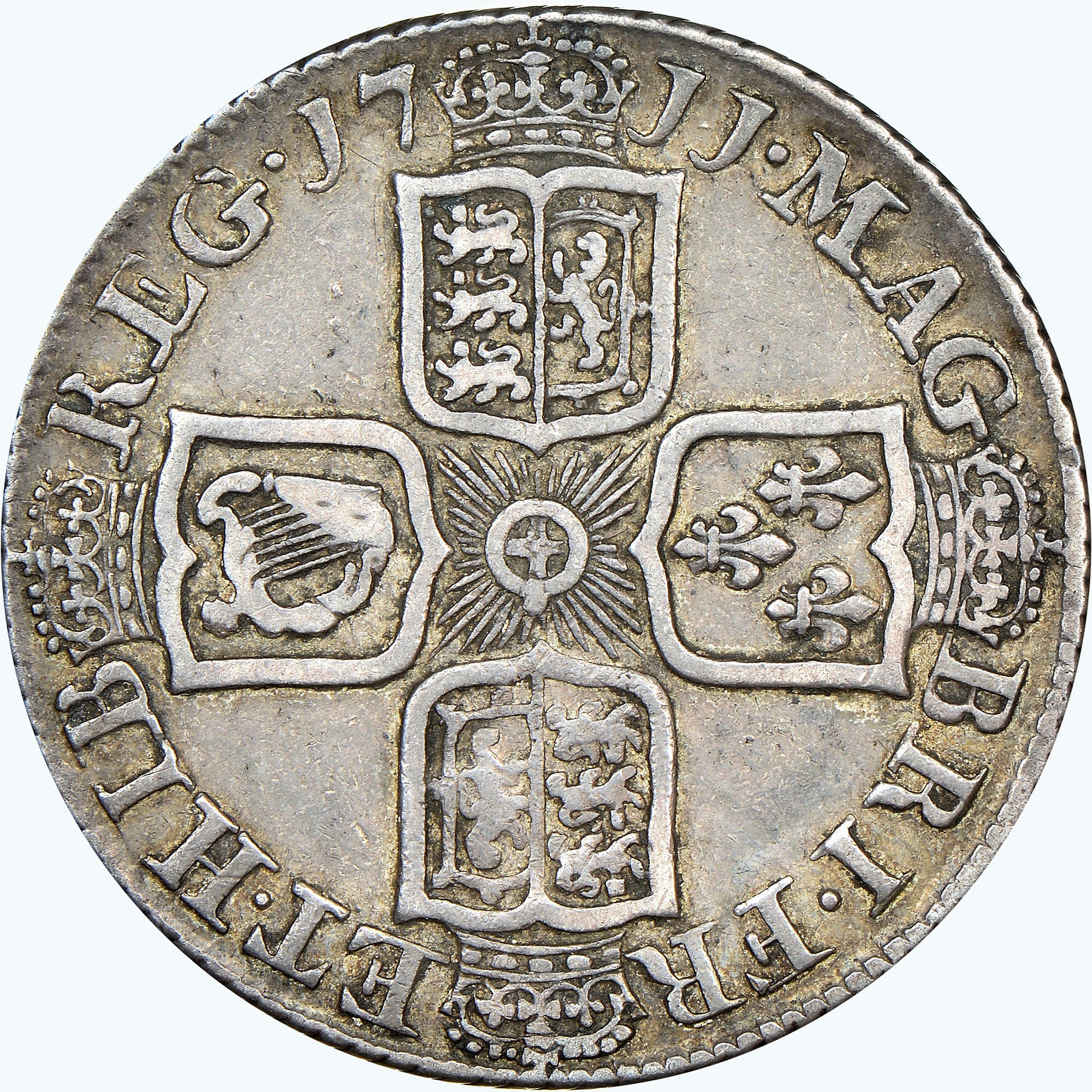 Great Britain Shilling reverse