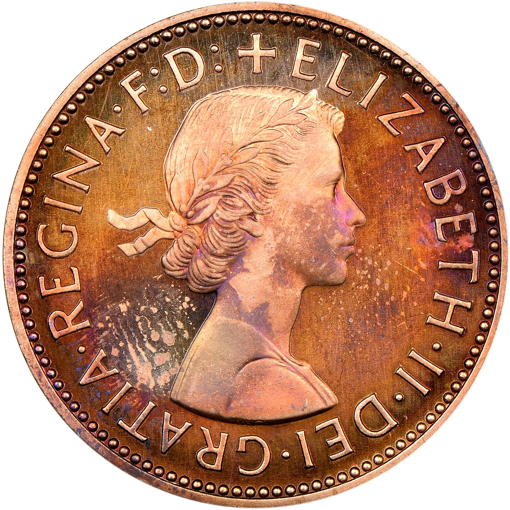 Great Britain 1/2 Penny obverse