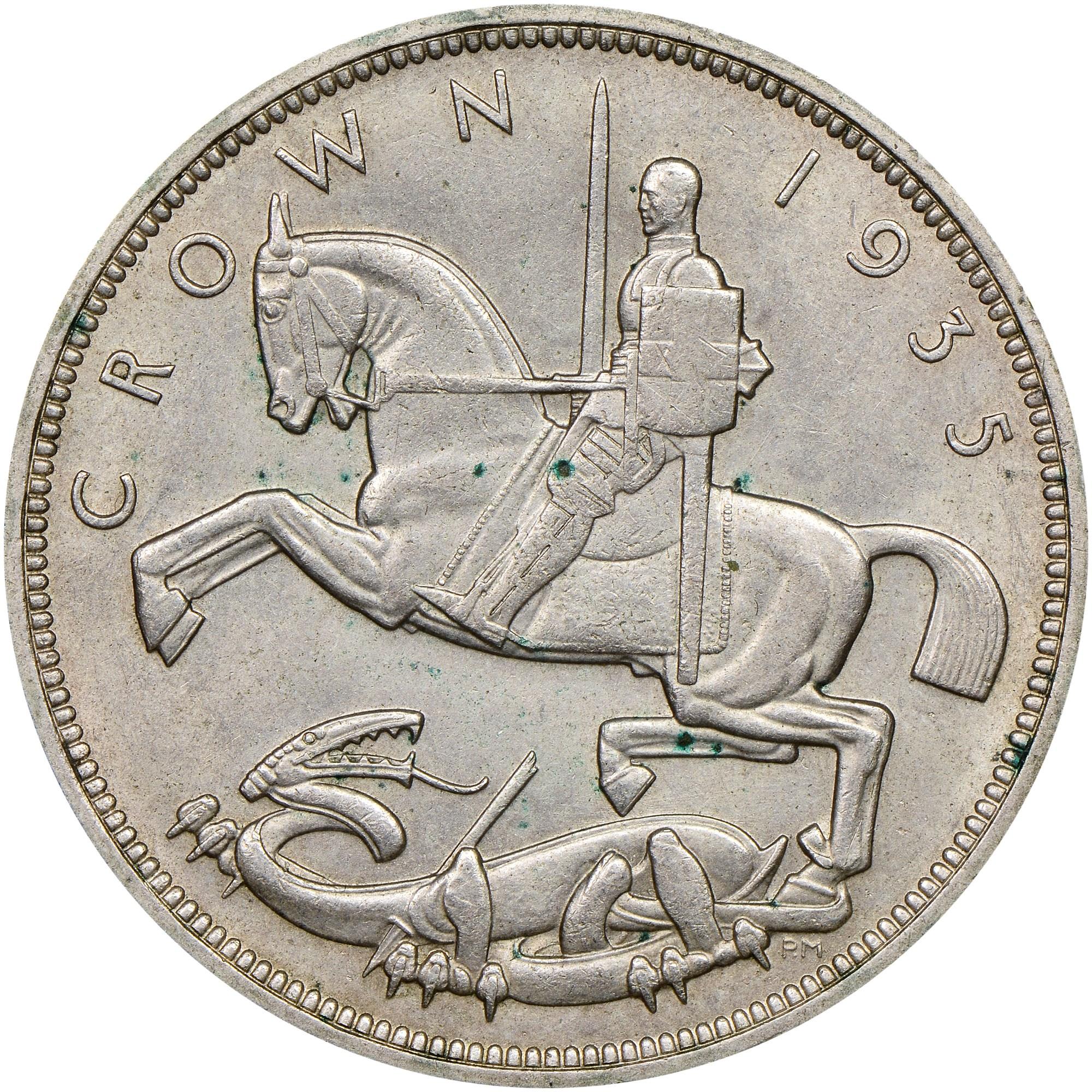 Great Britain Crown reverse