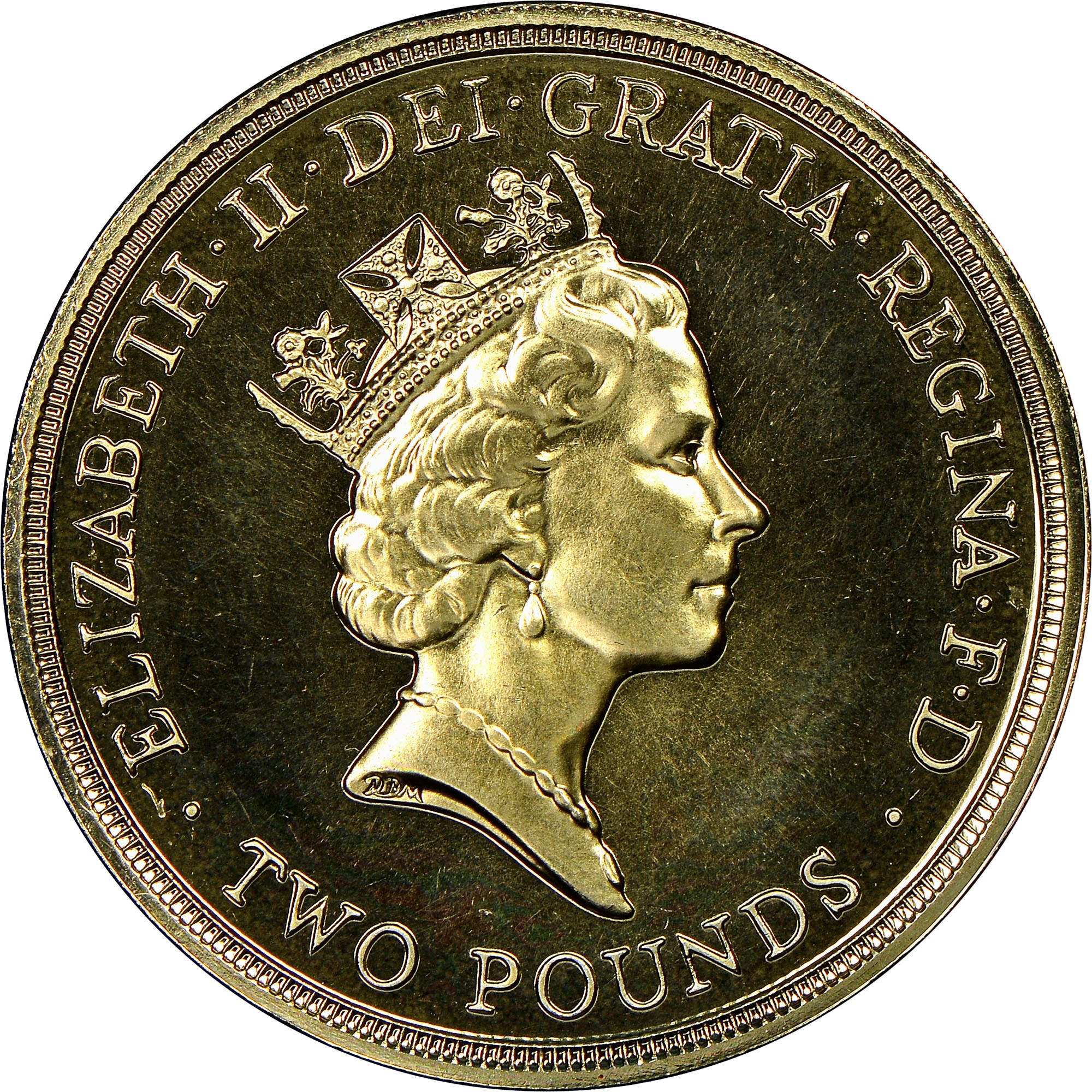 Great Britain 2 Pounds obverse