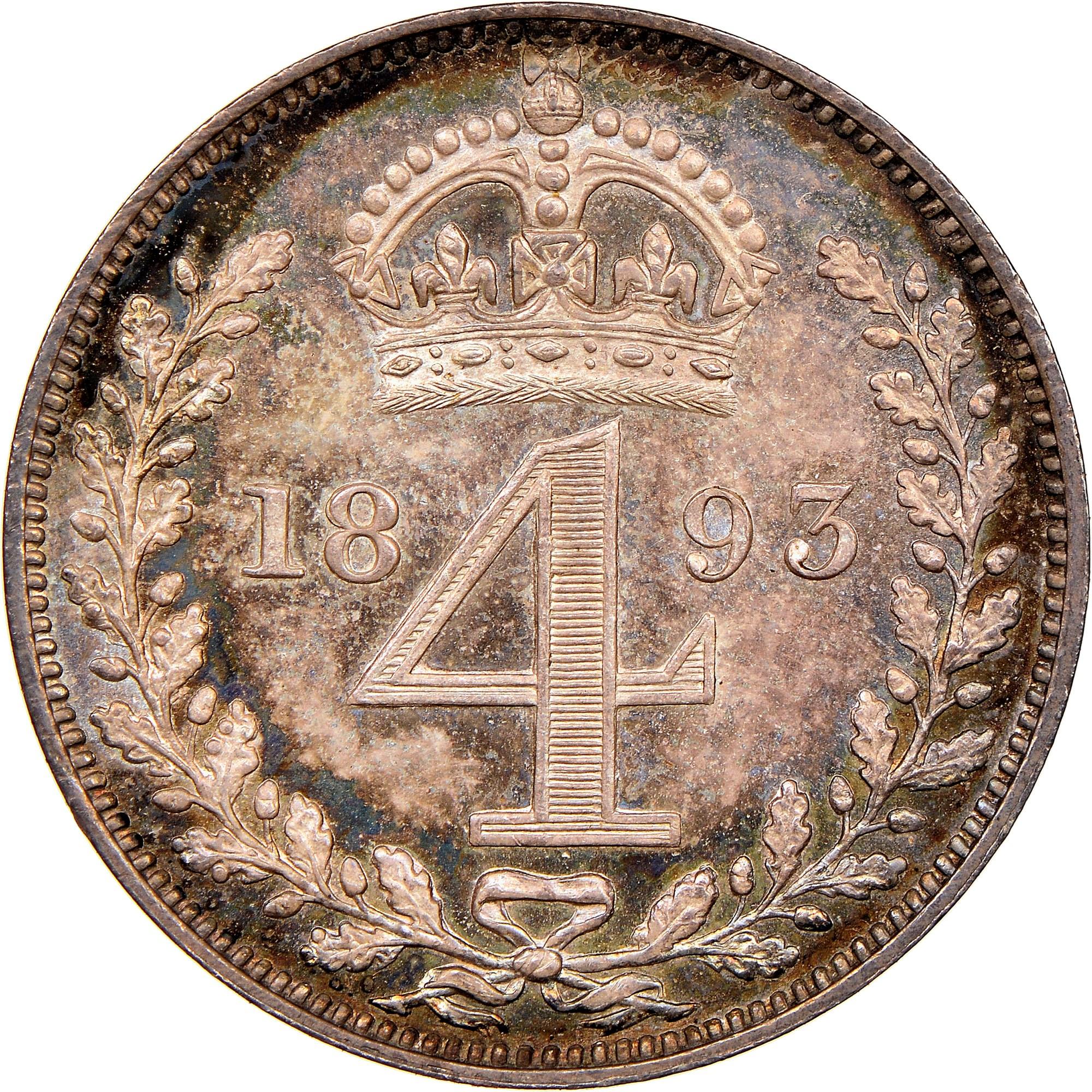 Great Britain 4 Pence reverse