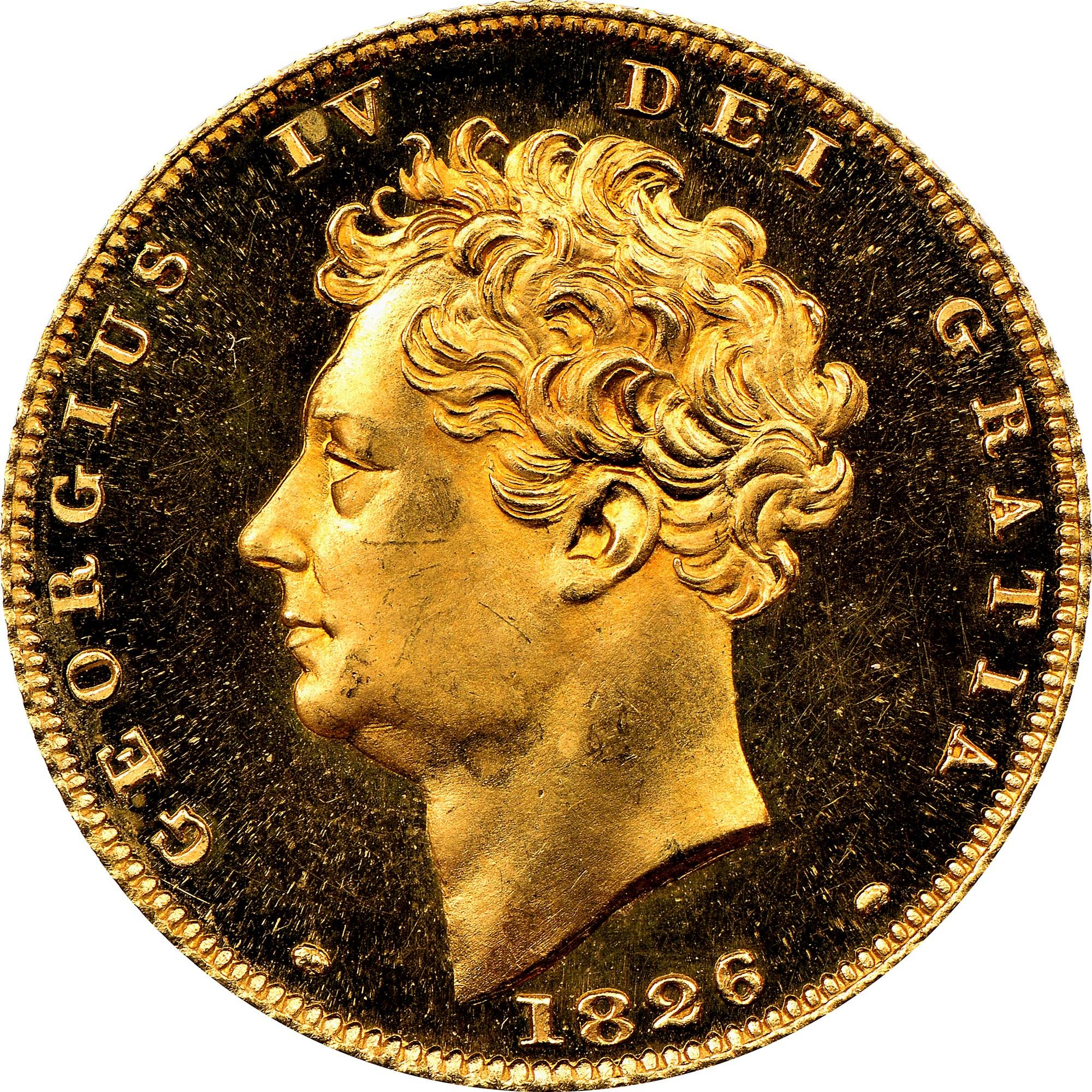 Great Britain 1/2 Sovereign obverse