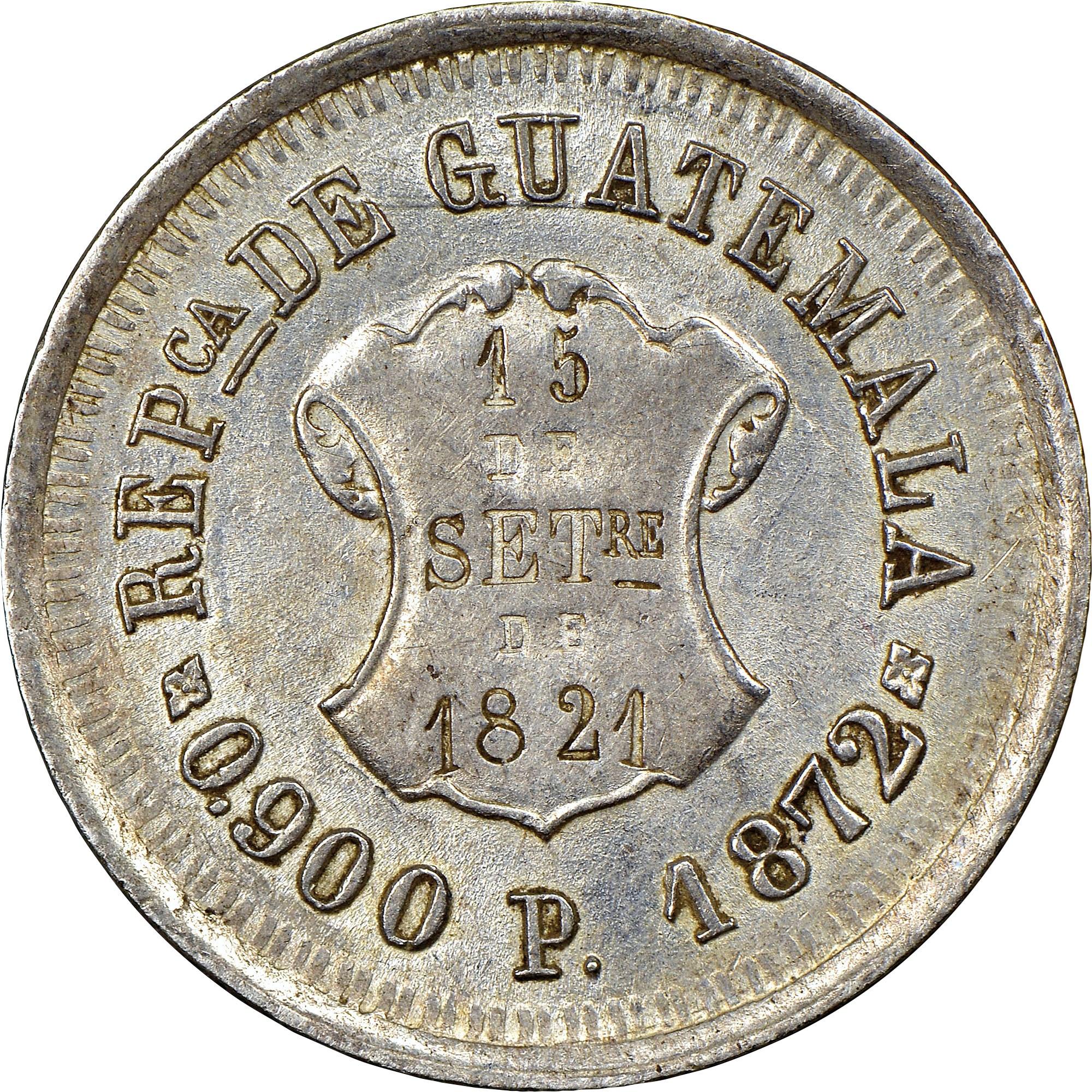 Guatemala Real obverse