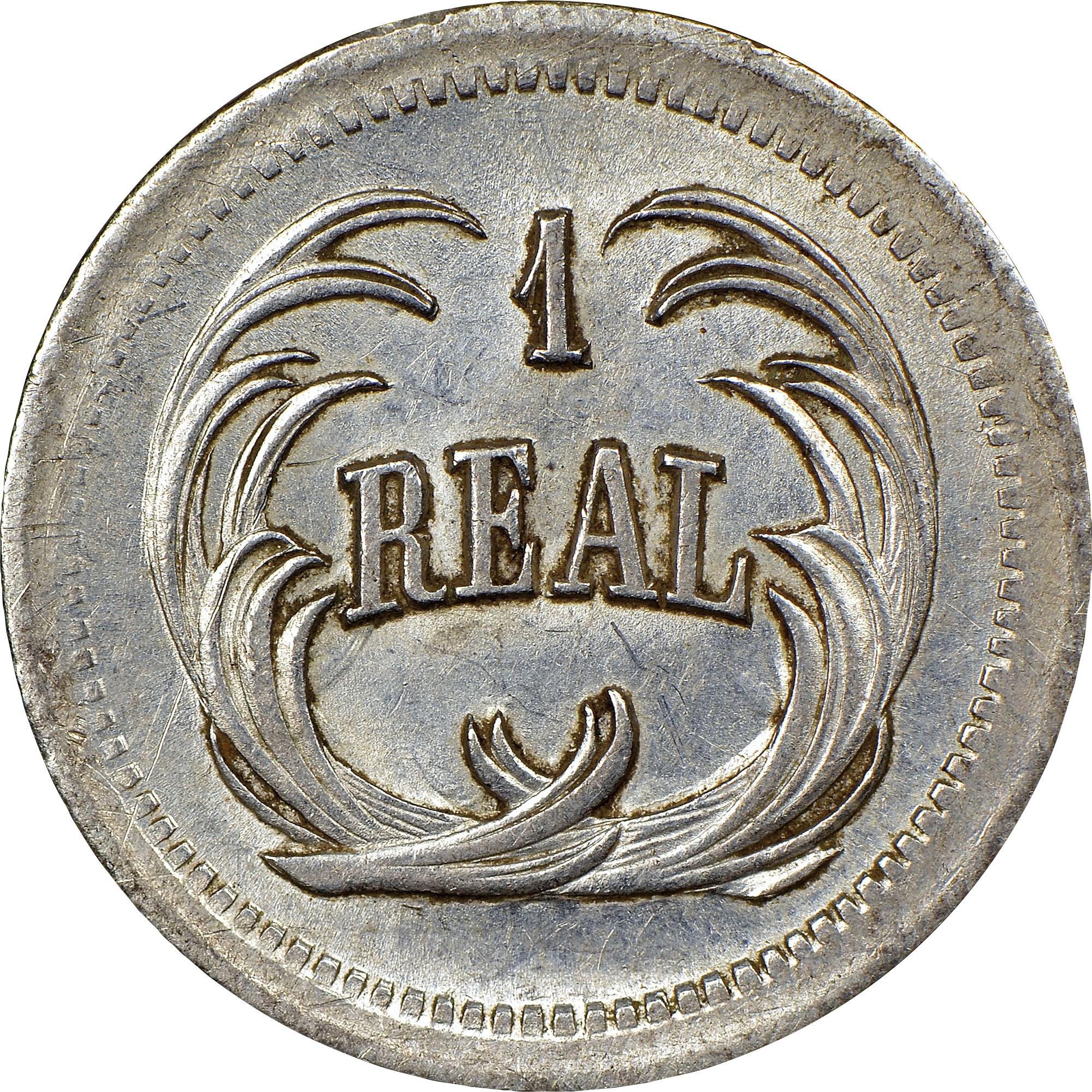 Guatemala Real reverse