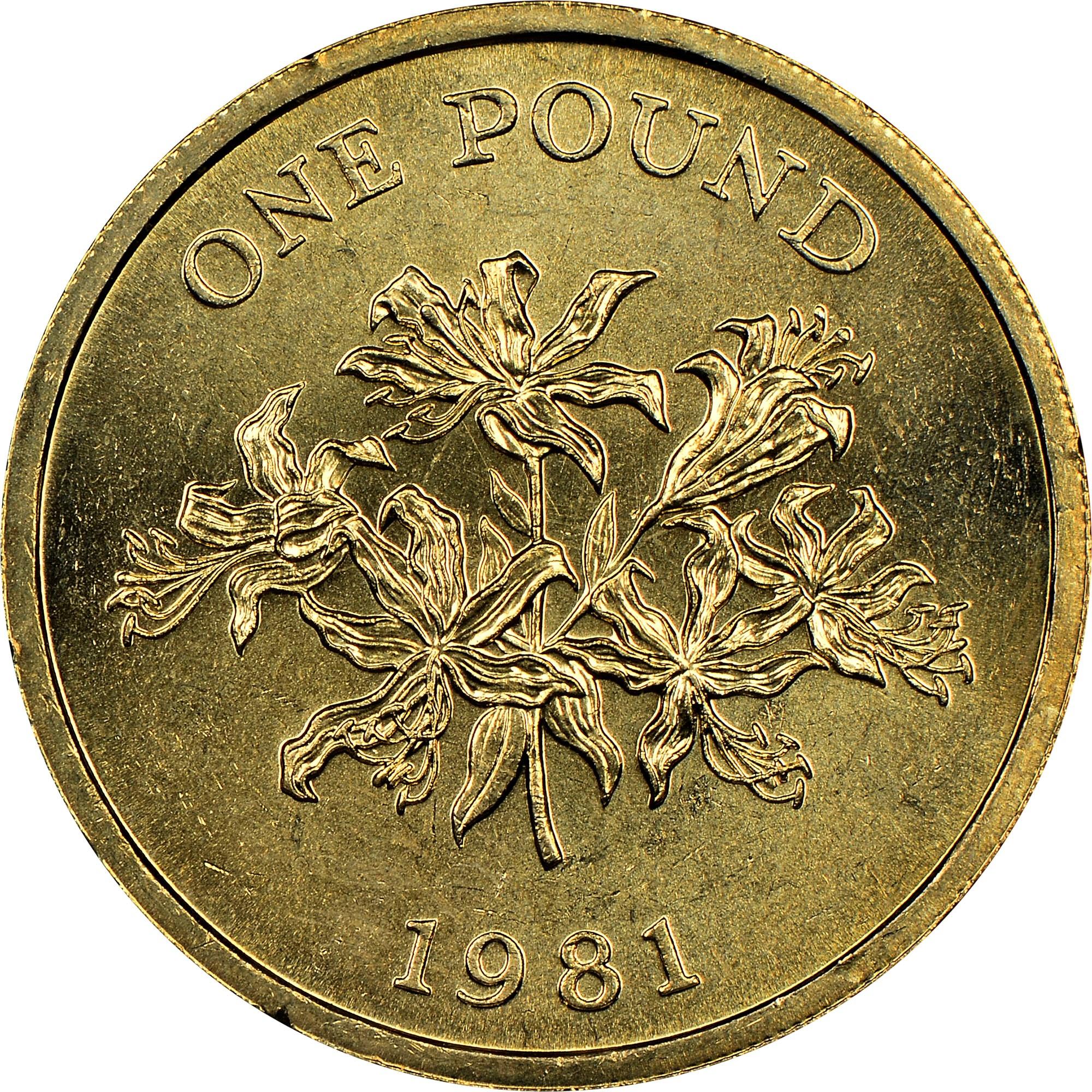 Guernsey Pound reverse