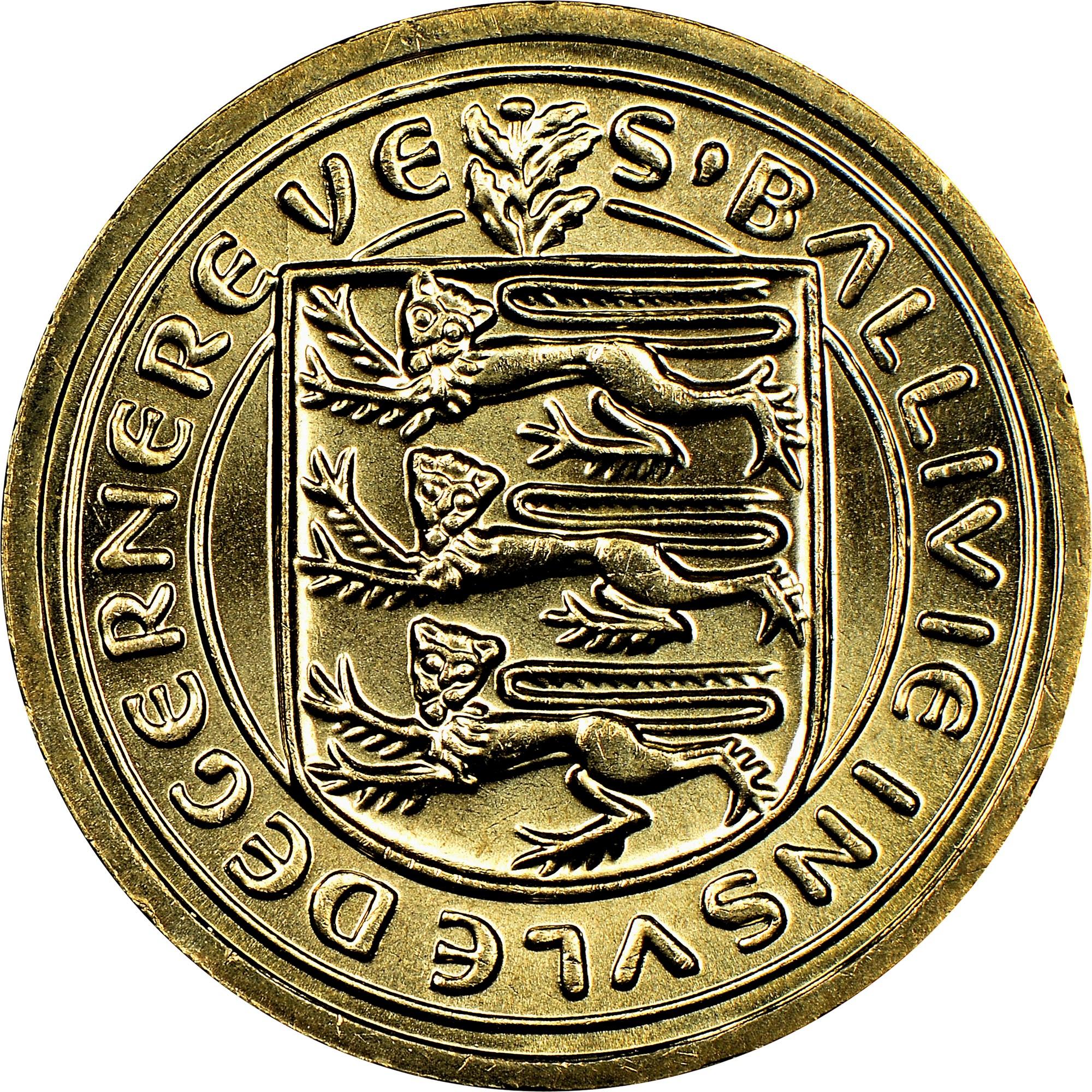 Guernsey Pound obverse