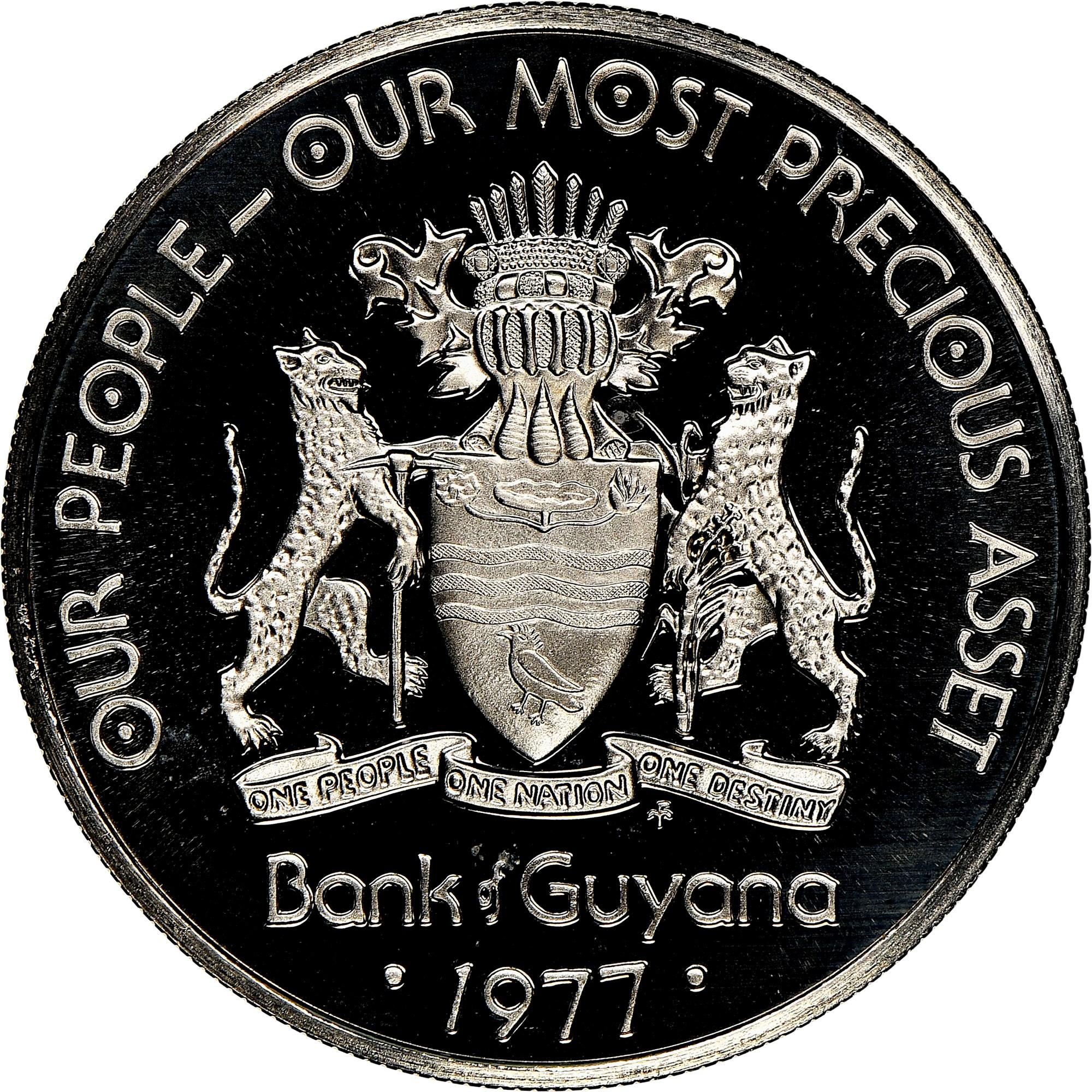 Guyana 50 Cents obverse