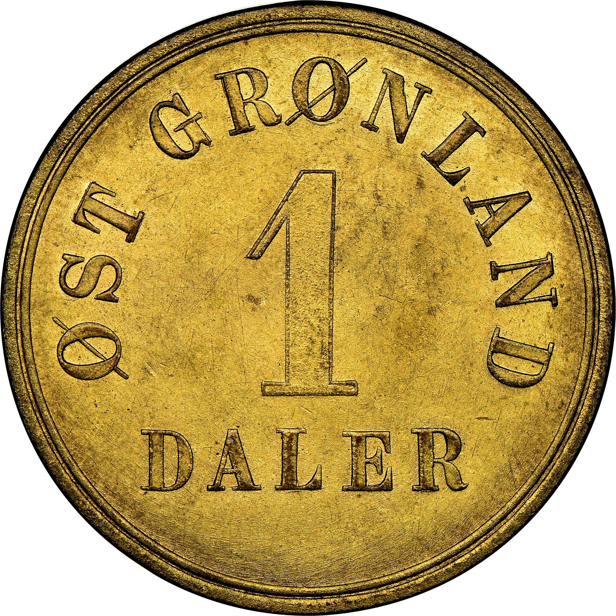 Greenland Daler obverse