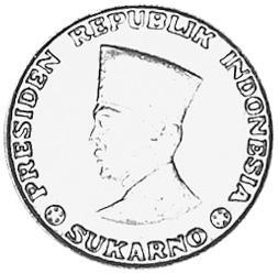 Indonesia IRIAN BARAT 5 Sen obverse