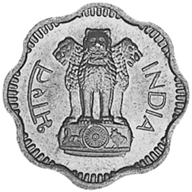 India-Republic 10 Naye Paise obverse