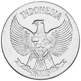 Indonesia 10 Sen reverse