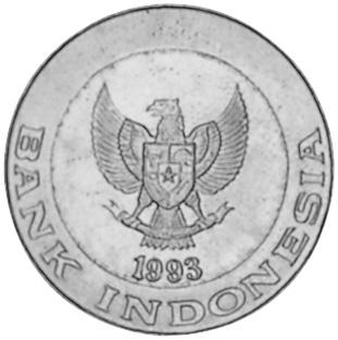 Indonesia 1000 Rupiah obverse