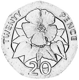 Saint Helena & Ascension 20 Pence reverse