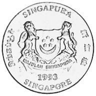 Singapore Cent obverse