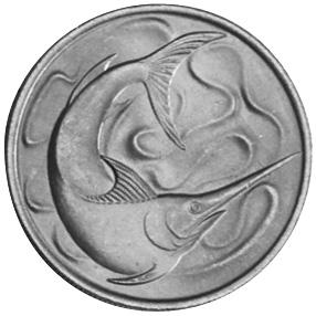 Singapore 20 Cents reverse