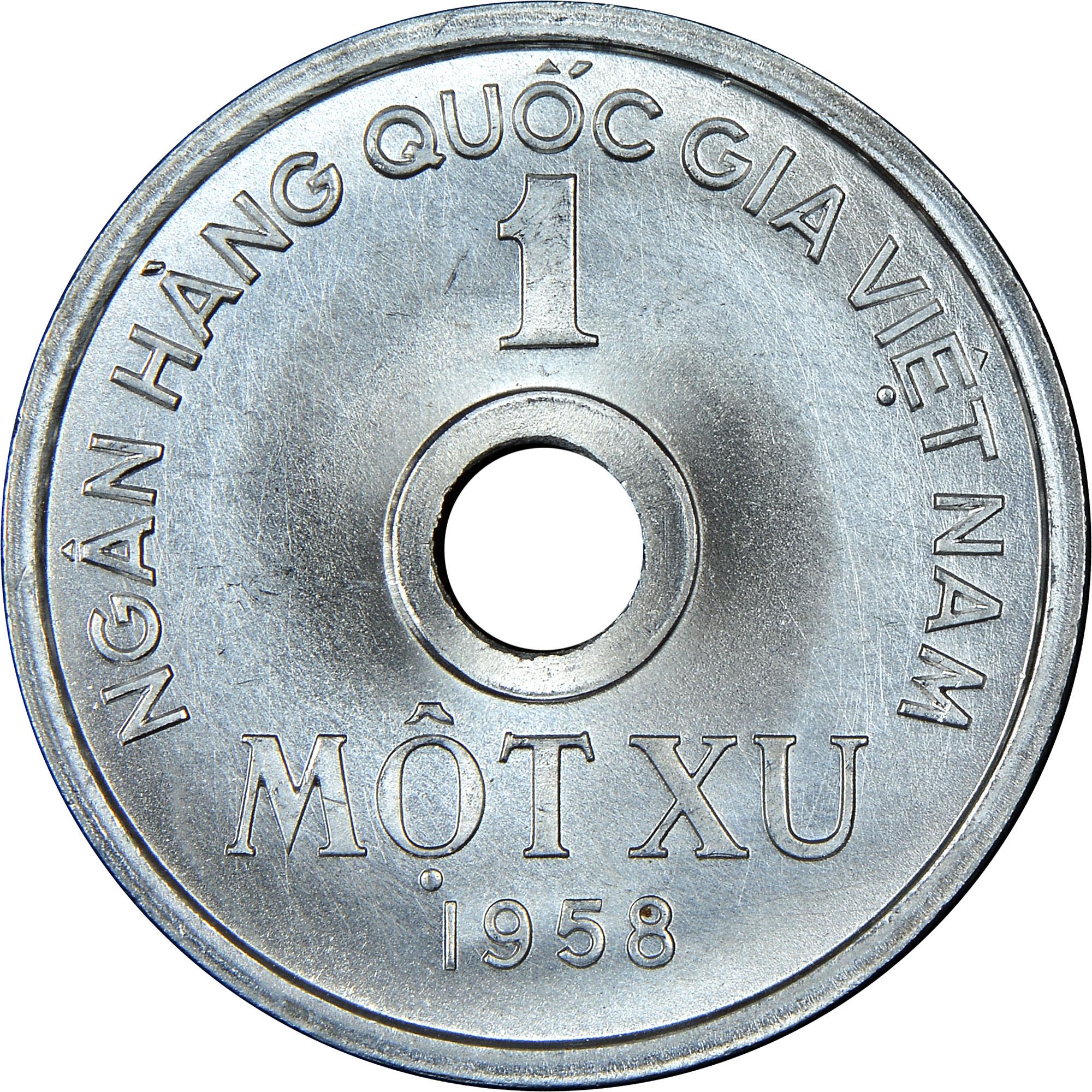 Viet Nam NORTH VIET NAM Xu reverse