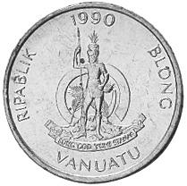 Vanuatu Vatu obverse