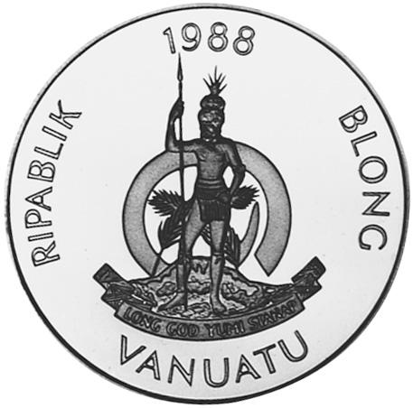 Vanuatu 50 Vatu obverse