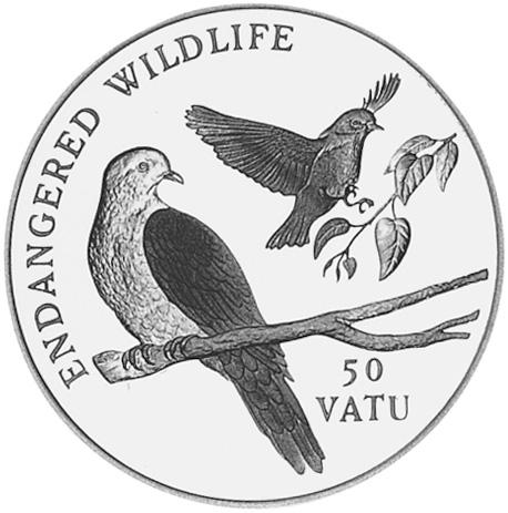 Vanuatu 50 Vatu reverse