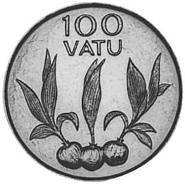 Vanuatu 100 Vatu reverse