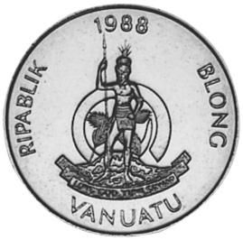 Vanuatu 100 Vatu obverse