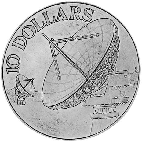 Singapore 10 Dollars reverse
