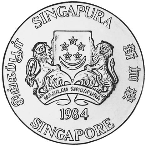 Singapore 10 Dollars obverse