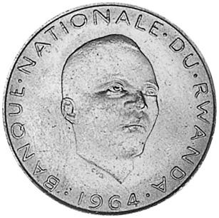 Rwanda 5 Francs obverse